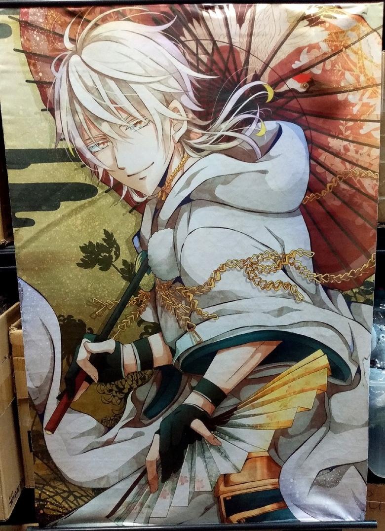 Тканевый плакат Touken Ranbu (1)