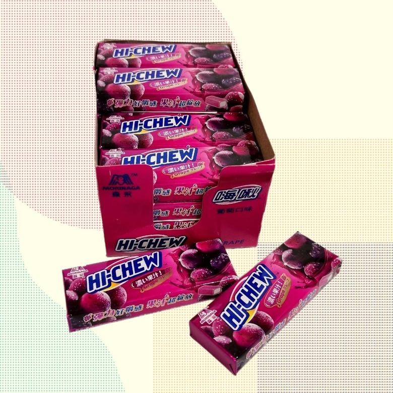 Жевательная конфета Hi-Chew со вкусом винограда