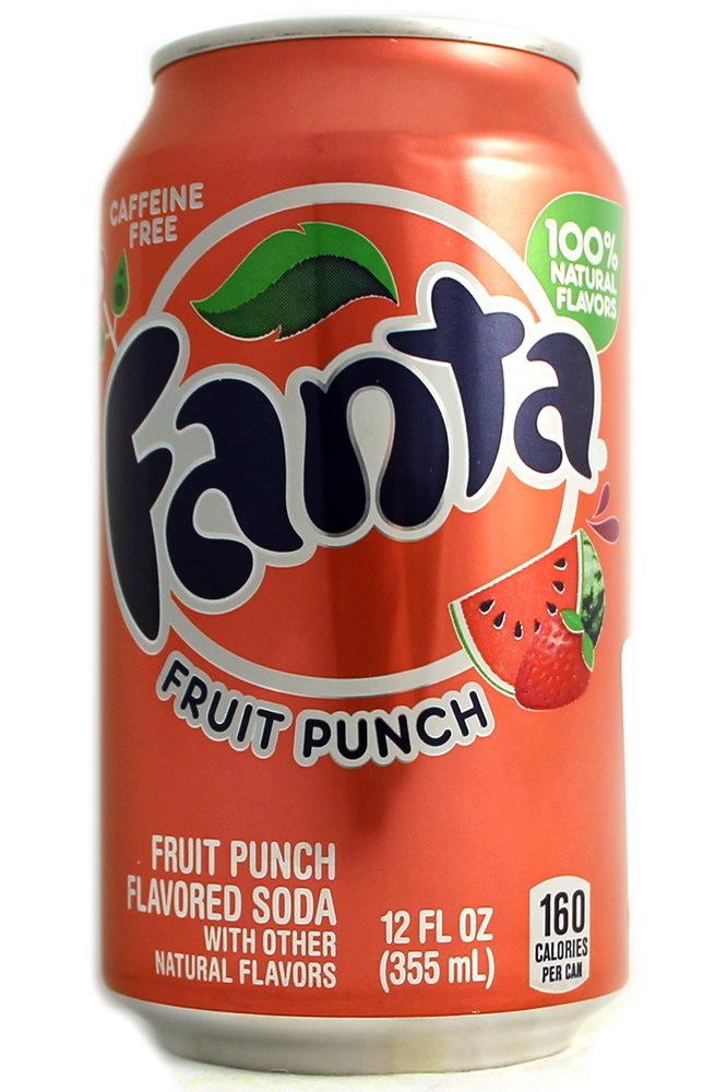 Fanta Fruit Punch/Фруктовый Пунш