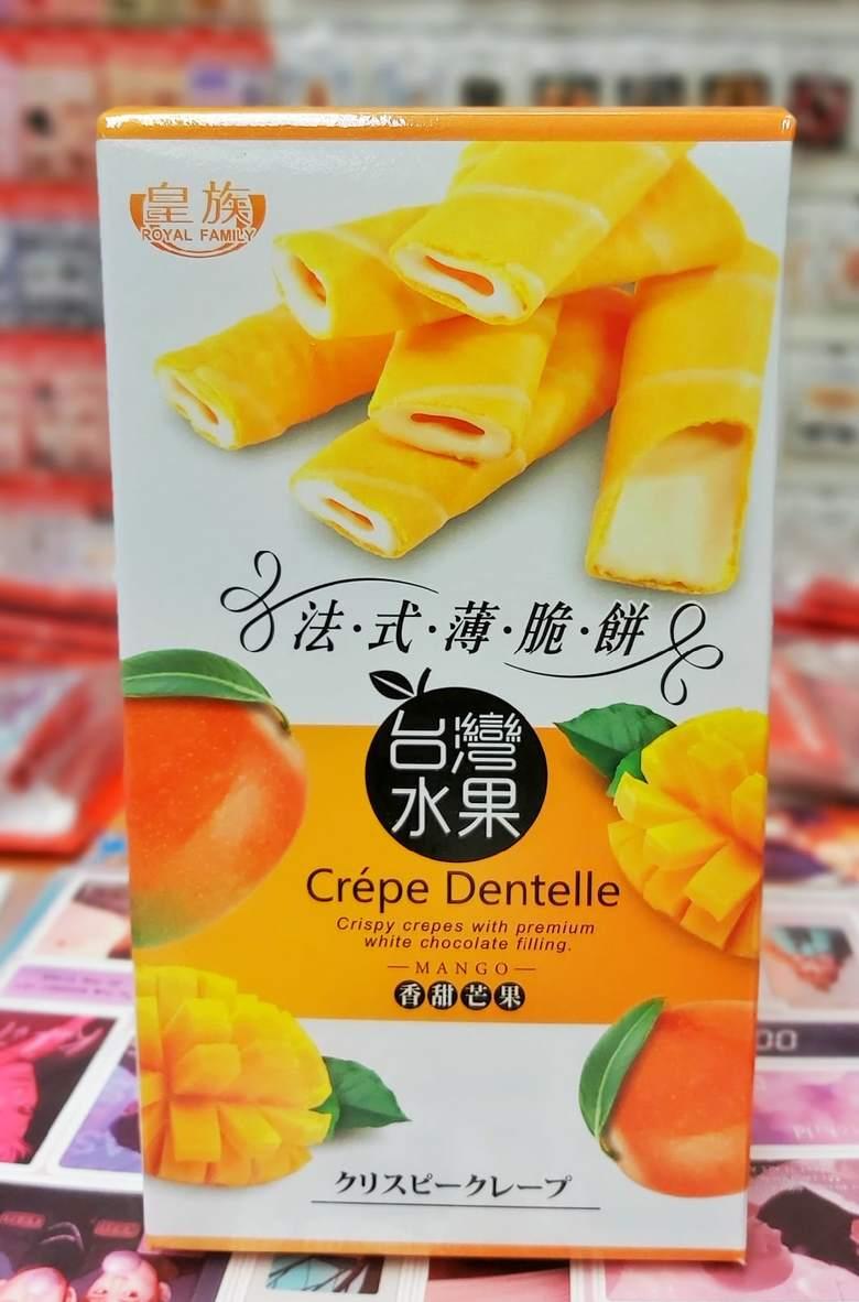 Печенье Криспи Крепы со вкусом манго