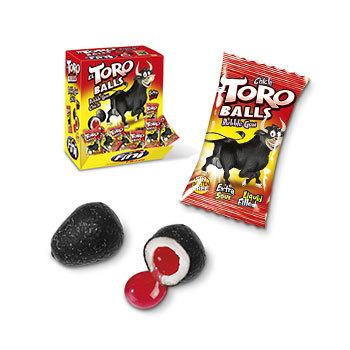 """Жевательная резинка """"Fini"""", el Toro balls"""