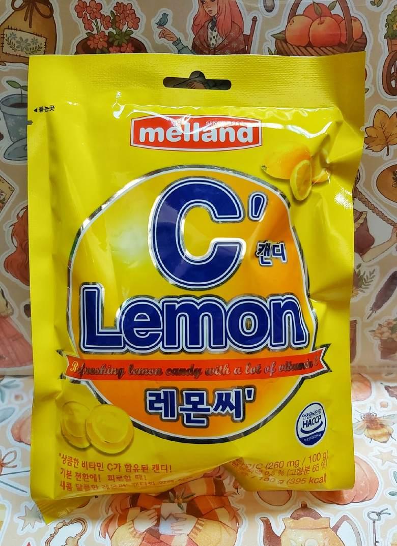 """Карамель """"Melland"""", витамин C"""