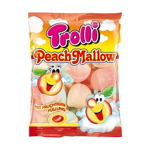 """Суфле """"TROLLI"""", персиковое с фруктовой начинкой"""