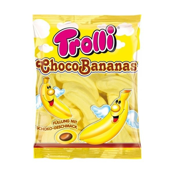 """Суфле """"TROLLI"""", банановое с шоколадной начинкой"""