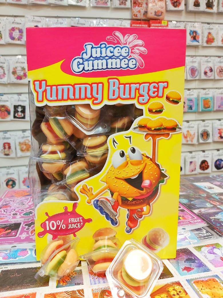 """Мармелад """"Candy Plus"""", бургер"""