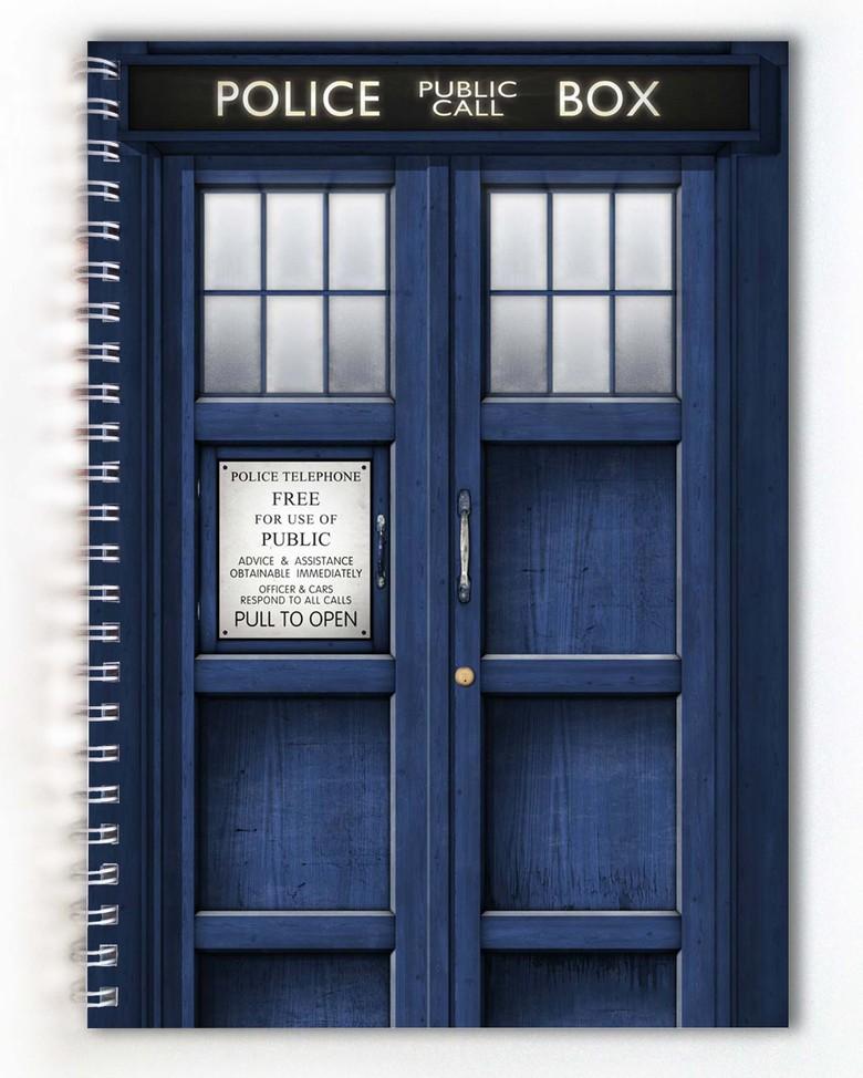 Тетрадь Доктор Кто / Doctor Who (6)
