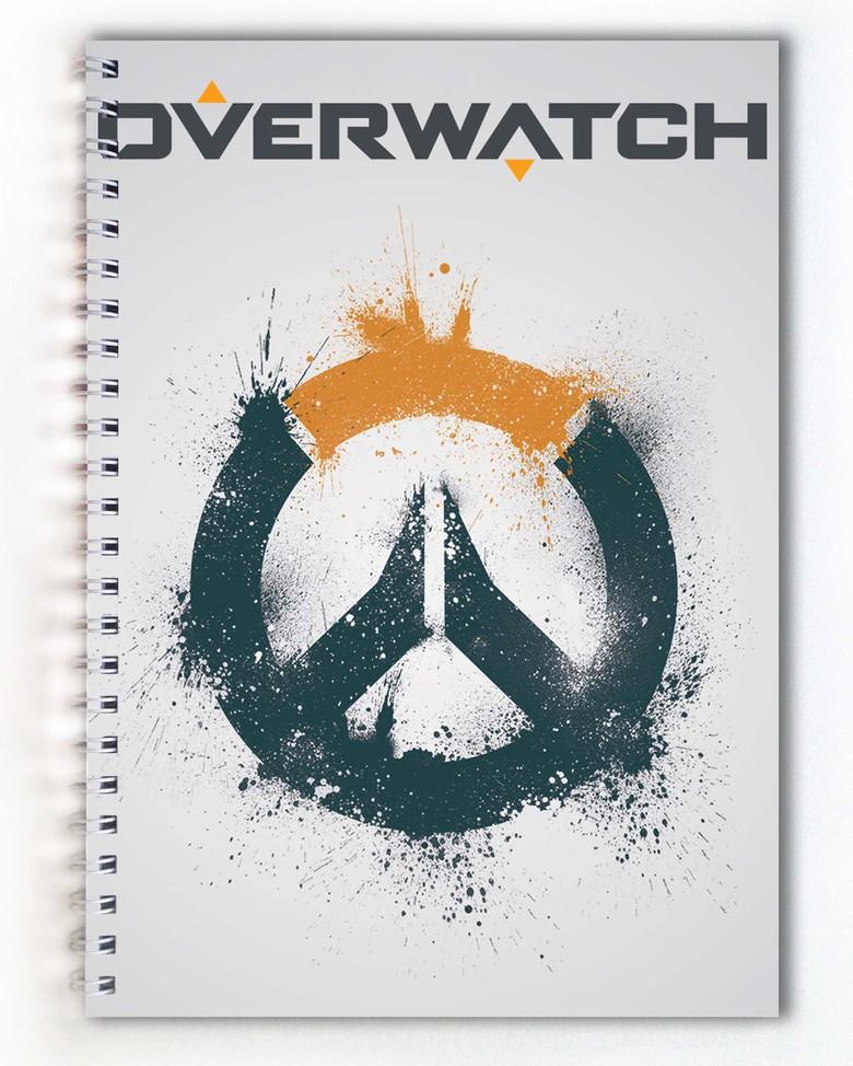 Тетрадь Overwatch