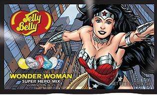 """Конфеты Jelly Belly Super Hero """"Wonder Woman"""", 28 г"""