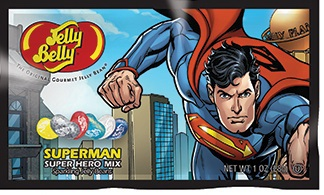 "Конфеты Jelly Belly Super Hero ""Superman"", 28 г"