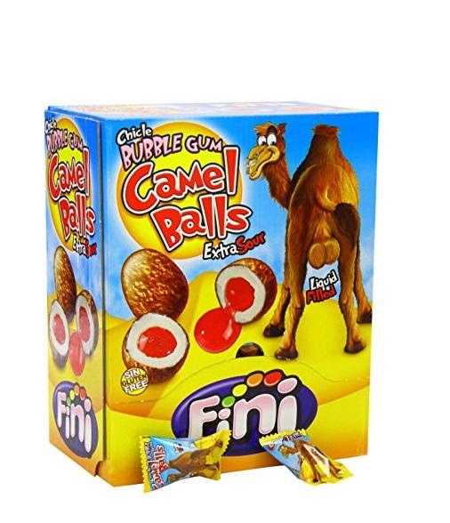 """Жевательная резинка """"Fini"""", camel balls"""