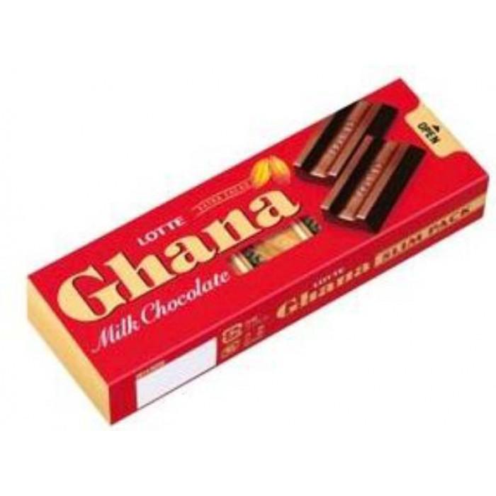 "Молочный шоколад ""Ghana Slim Pack"""