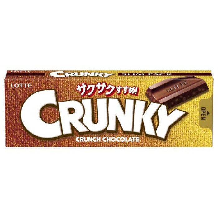 "Хрустящий молочный шоколад ""Crunky Slim Pack"""