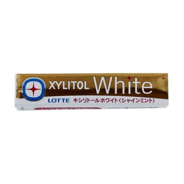 """Жевательная резинка """"Xylitol"""", сияющая мята с эффектом отбеливания"""