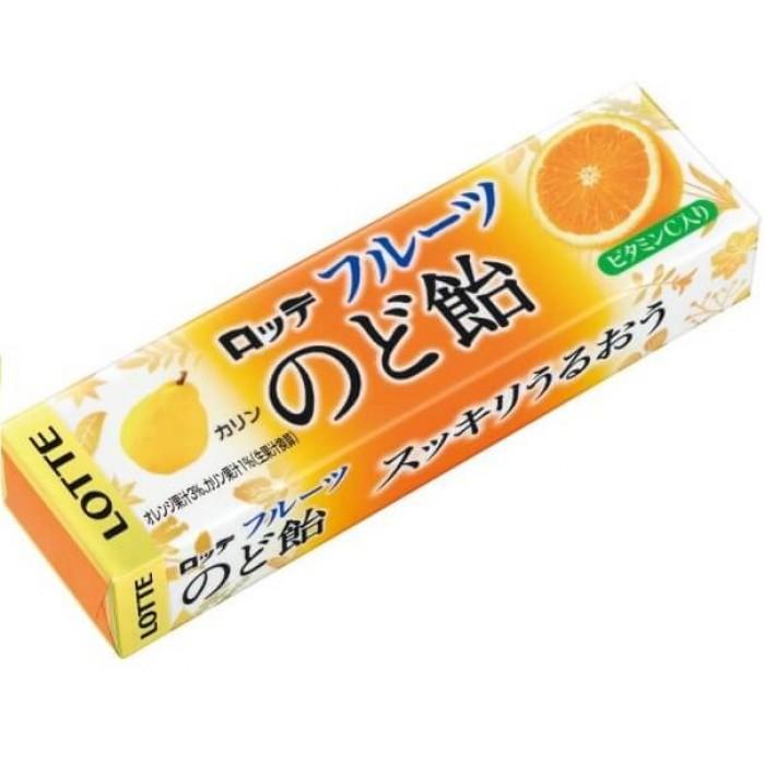 """Леденцы """"Fruits Nodo Ame Candy"""", со вкусом айвы и фруктов"""