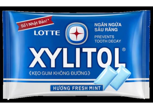 Жевательная резинка Xylitol Fresh Mint, со вкусом свежей мяты