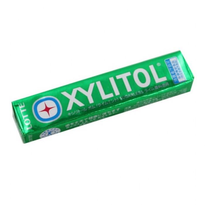 """Жевательная резинка """"Xylitol Gum Lime Mint"""", со вкусом лайма и мяты"""