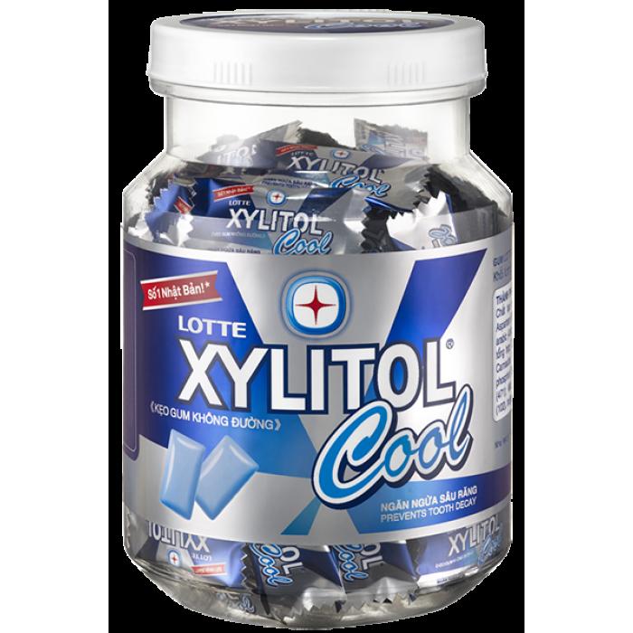 Жевательная резинка Xylitol Cool Mint, Прохладная освежающая мята
