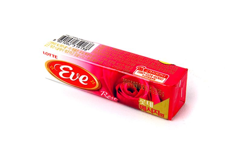 """Жевательная резинка """"Eve"""", со вкусом розы"""