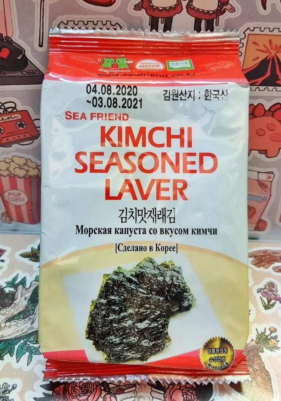 Нори-чипсы со вкусом кимчи 5г