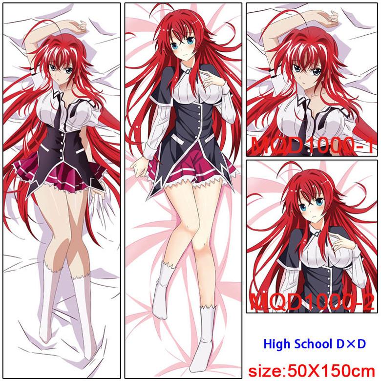 Декоративная подушка дакимакура Демоны старшей школы/High School DxD