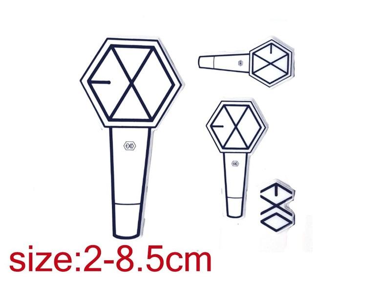 Наклейка EXO