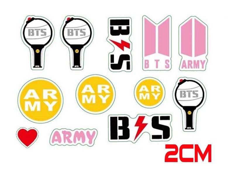 Наклейки BTS (2)