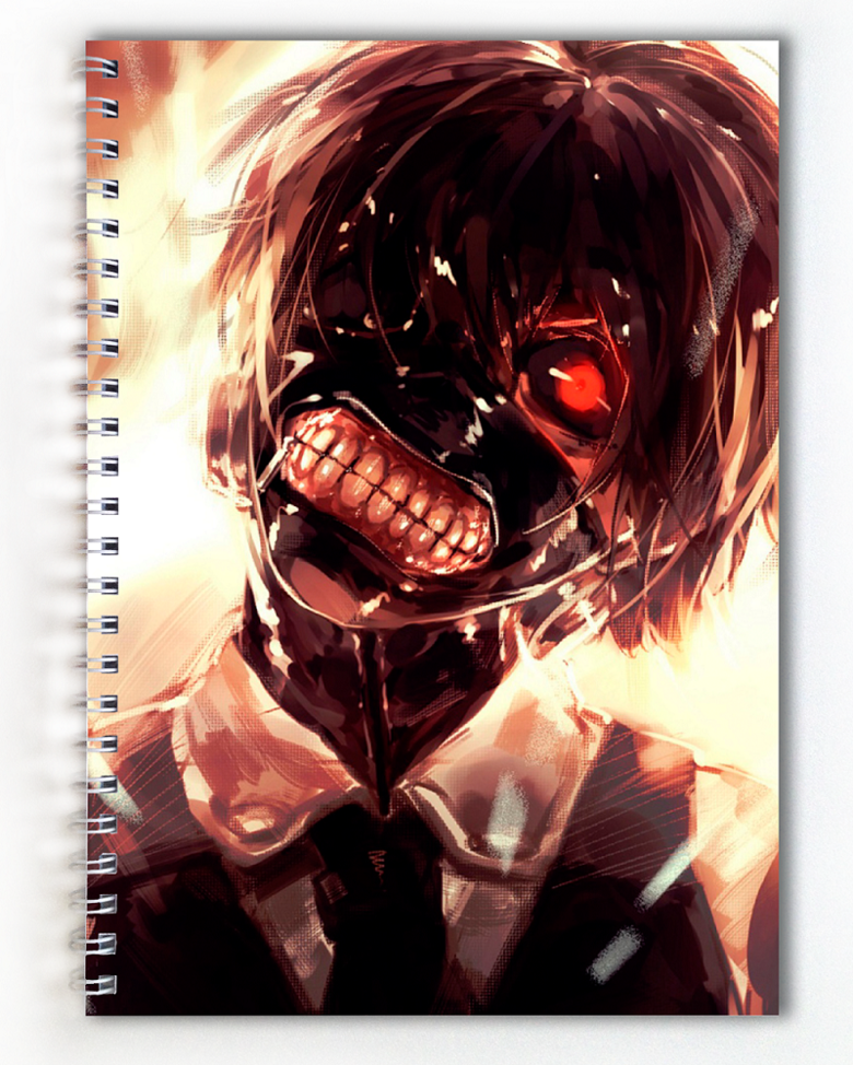 Тетрадь Токийский Гуль/Токийский монстр/Tokyo Ghoul (6)