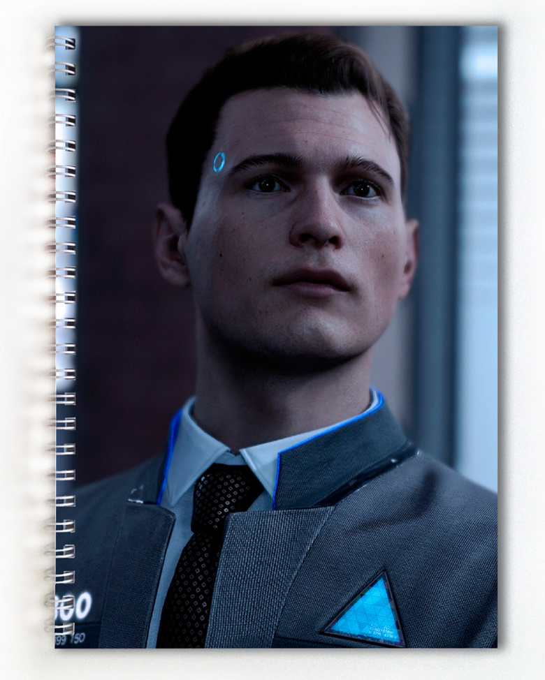 Тетрадь Detroit: Become Human (3)
