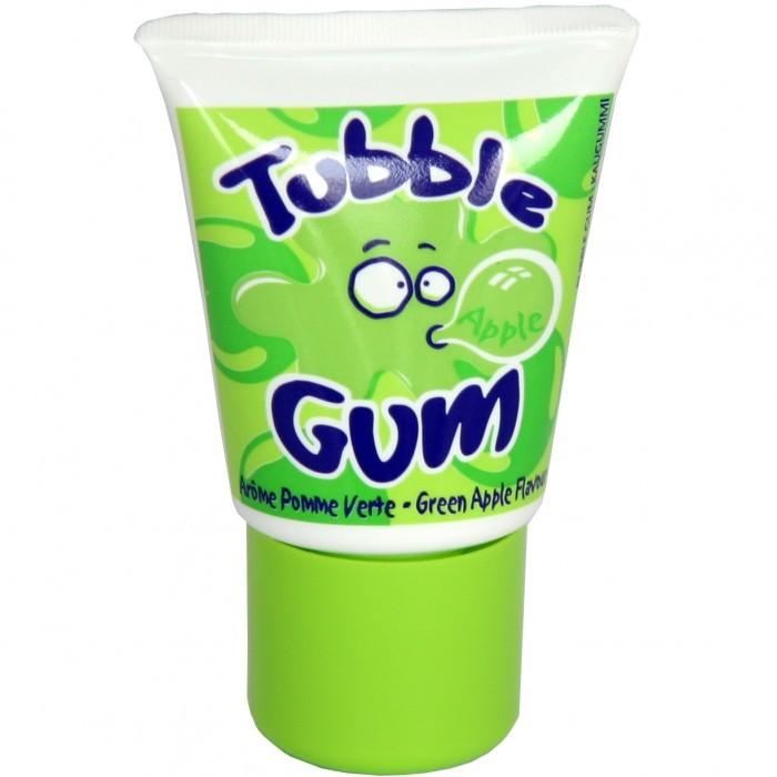 Жидкая жвачка Tubble Gum, со вкусом зеленого яблока в тюбике
