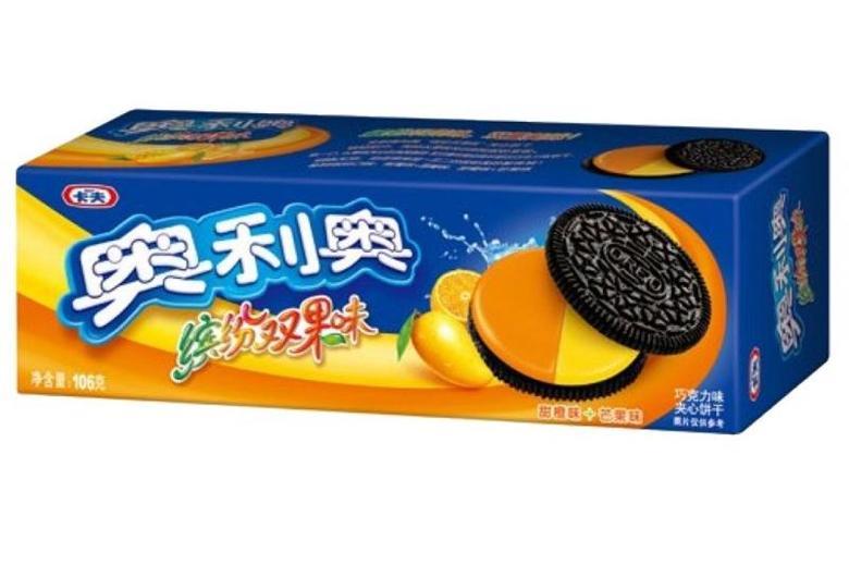 Печенье Оrео, со вкусом апельсина и манго