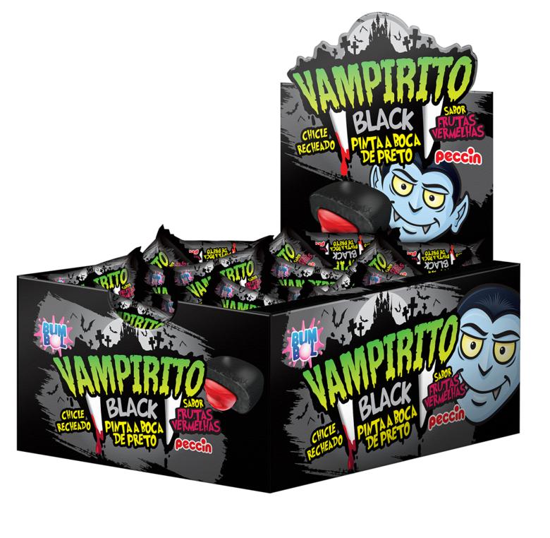 Жевательная резинка Vampirito Black