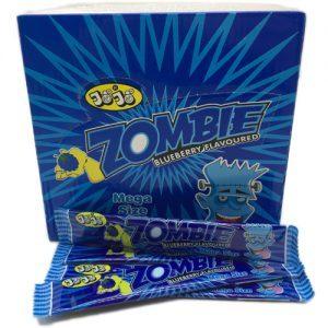 Жевательная конфета Zombie со вкусом голубики