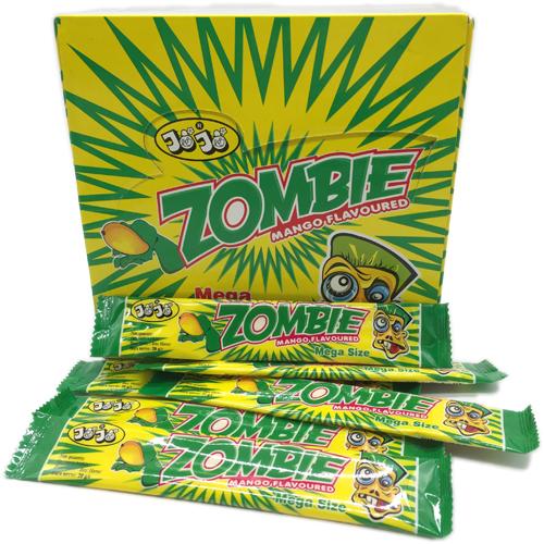 Жевательная конфета Zombie, со вкусом манго