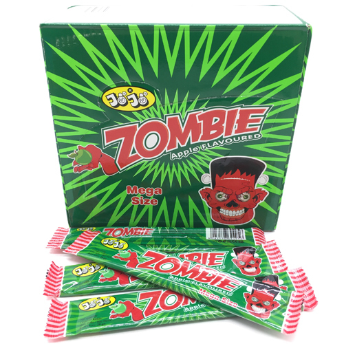 Жевательная конфета Zombie, с яблочным вкусом