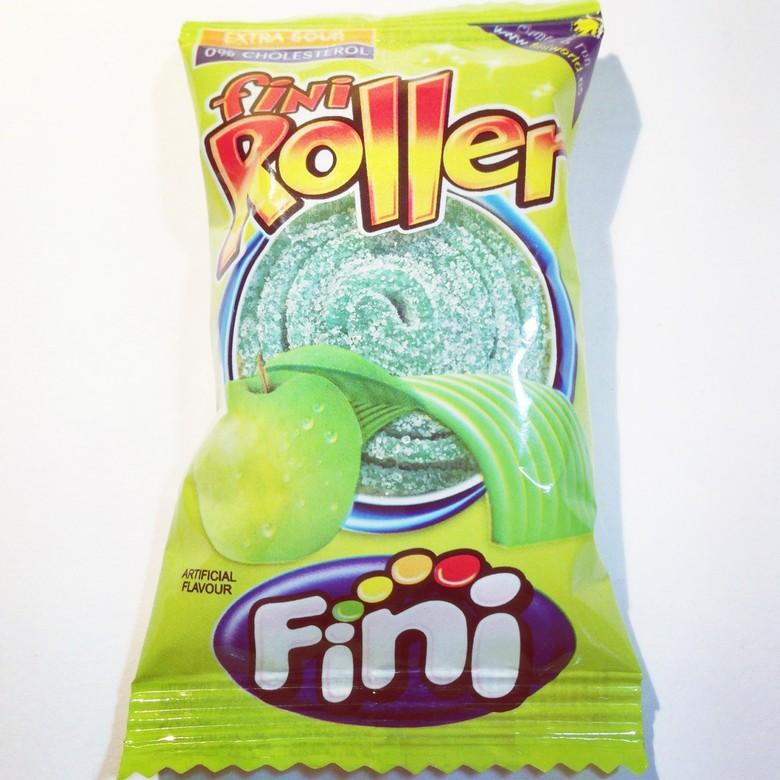 Сладости Жевательная конфета Fini Роллер со вкусом яблока