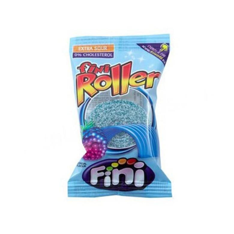 Сладости Жевательная конфета Fini Роллер со вкусом малины