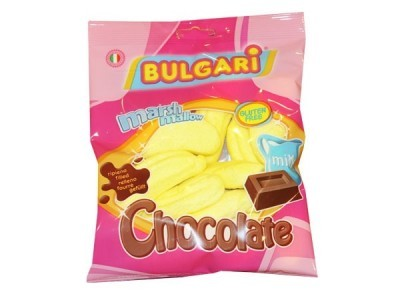 "Маршмеллоу ""Bulgari"" банан с шоколадной начинкой"