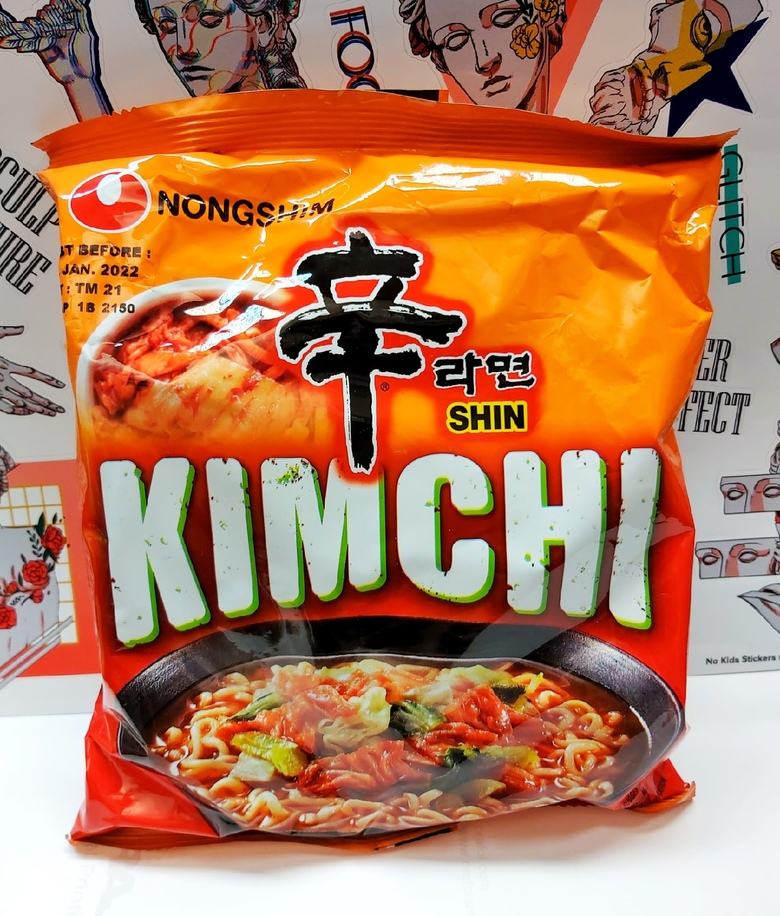 """Лапша быстрого приготовления Nongshim со вкусом кимчи """"Kimchi Ramuyn"""""""