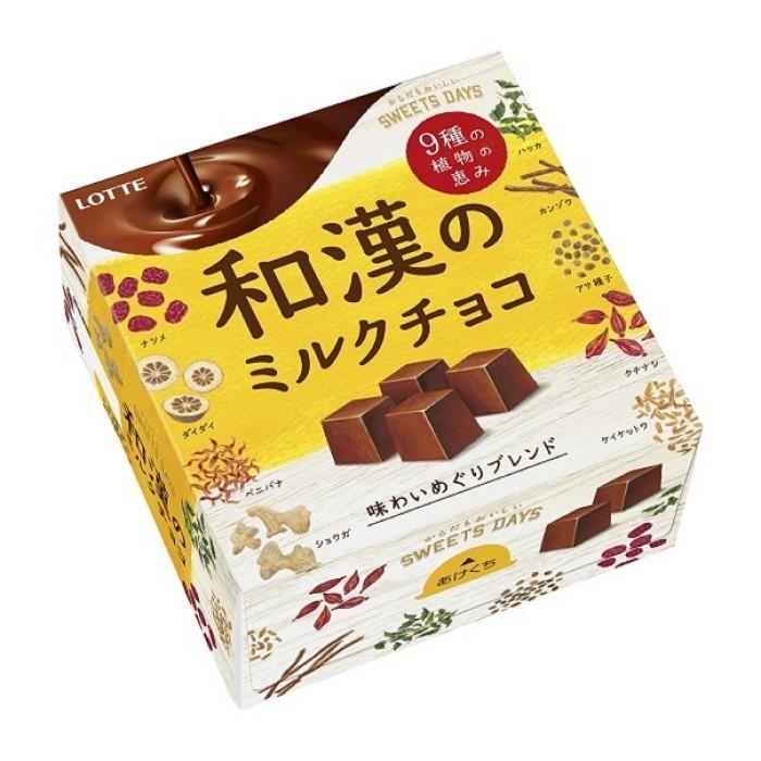 "Конфеты молочного шоколада с лечебными травами ""Milk Chocolate Herb Brend"""