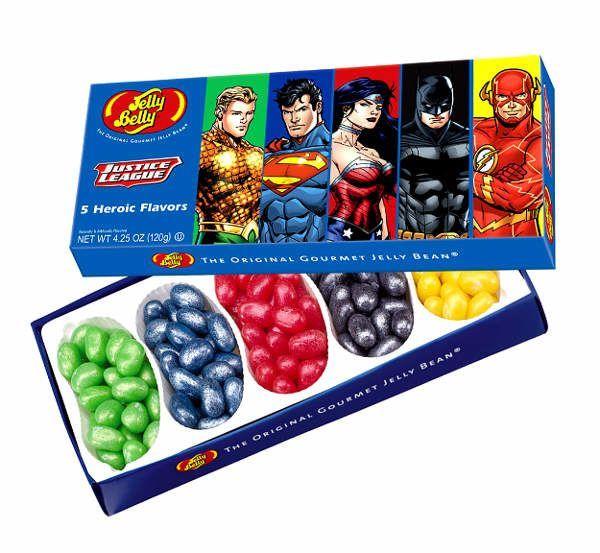 "Jelly Belly Набор конфет Jelly Belly ""Лига справедливости"""