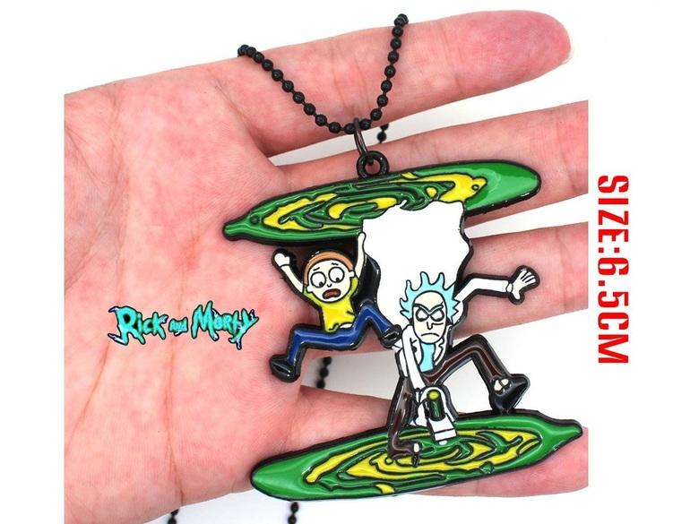 Кулон Рик и Морти/Rick and Morty (3)