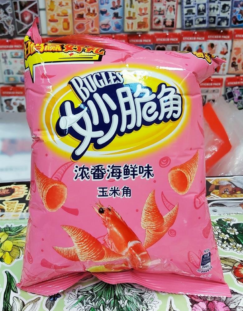 Чипсы Сheetos bugles со вкусом морепродуктов