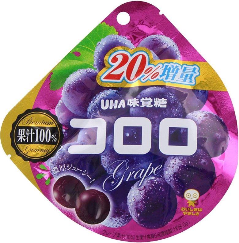 Мармелад UHA с красным виноградом