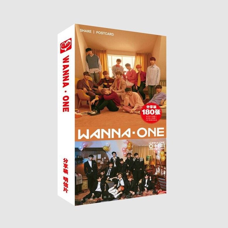 Набор открыток Wanna One
