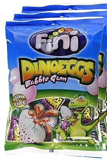 Жевательная резинка Fini Яйцо Динозавра со вкусом клубники