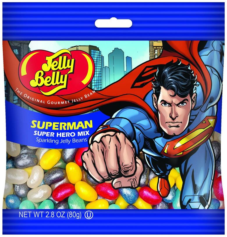 "Конфеты Jelly Belly Super Hero ""Superman"""