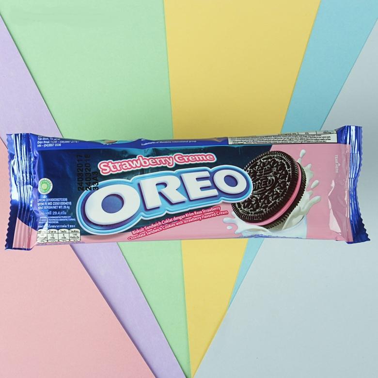 Печенье Oreo Клубничное