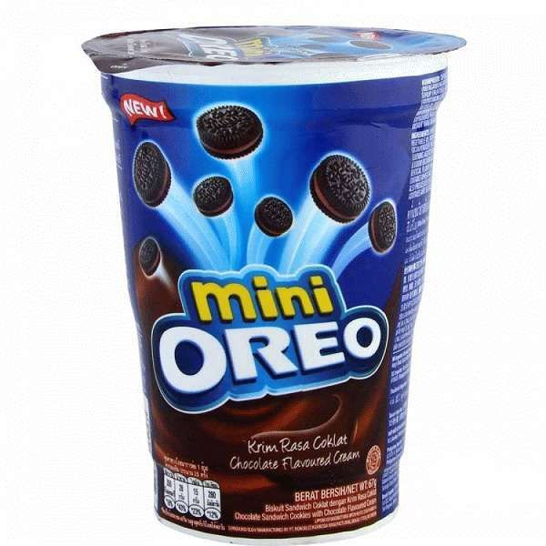 Печенье Oreo mini Chocolate