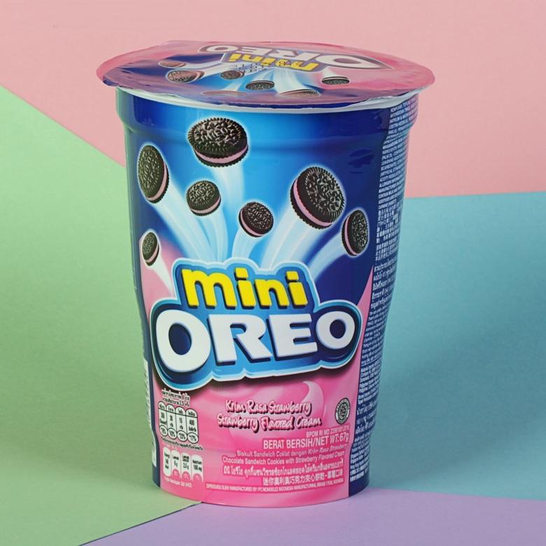 Печенье Oreo mini Strawberry