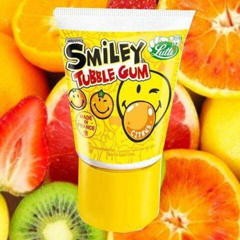 Жидкая жевательная резинка Lutti со вкусом цитрусов